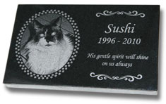 Standard Pet Grave Markers